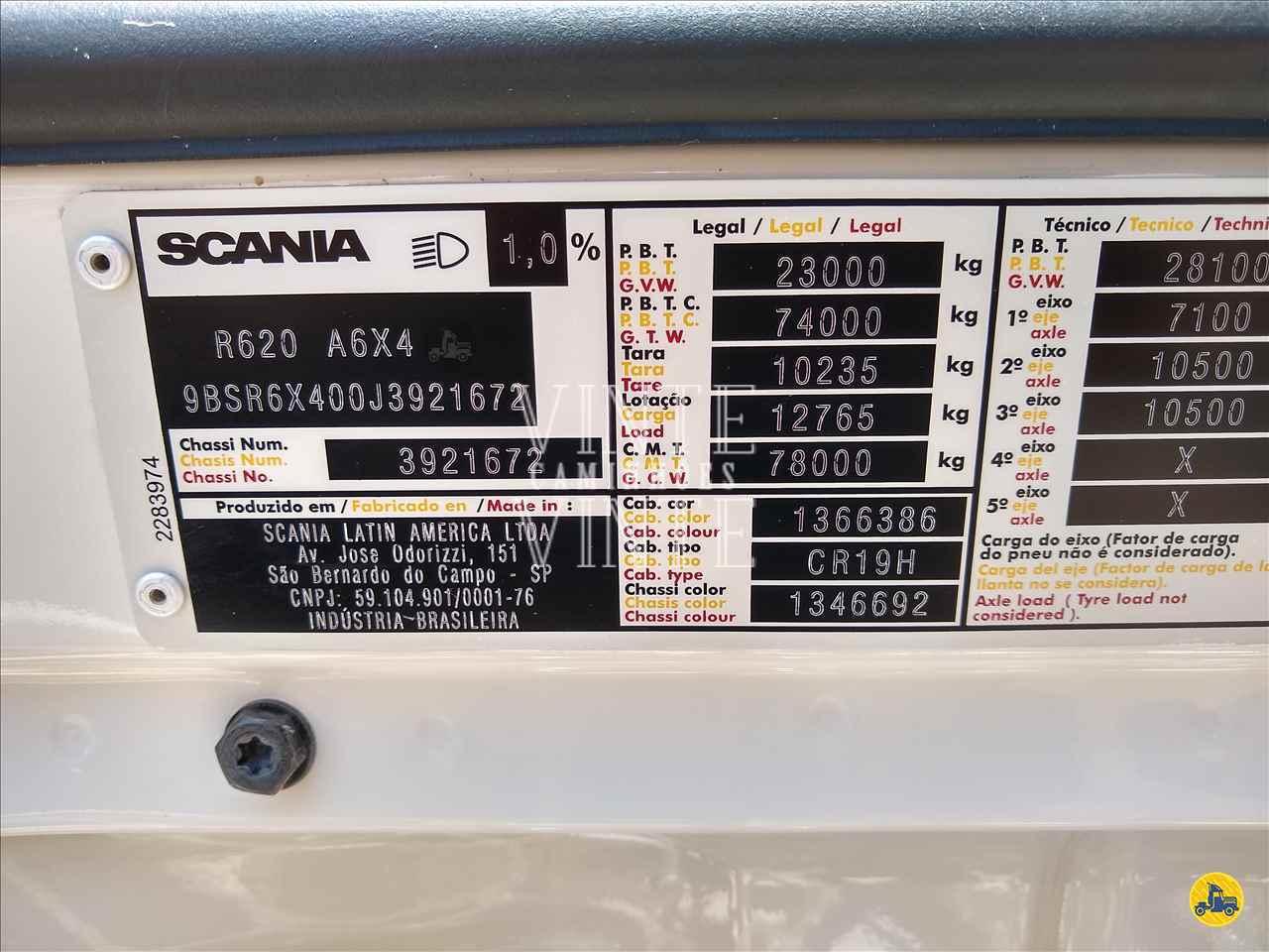SCANIA SCANIA 620 210000km 2018/2018 Vinte-Vinte Caminhões