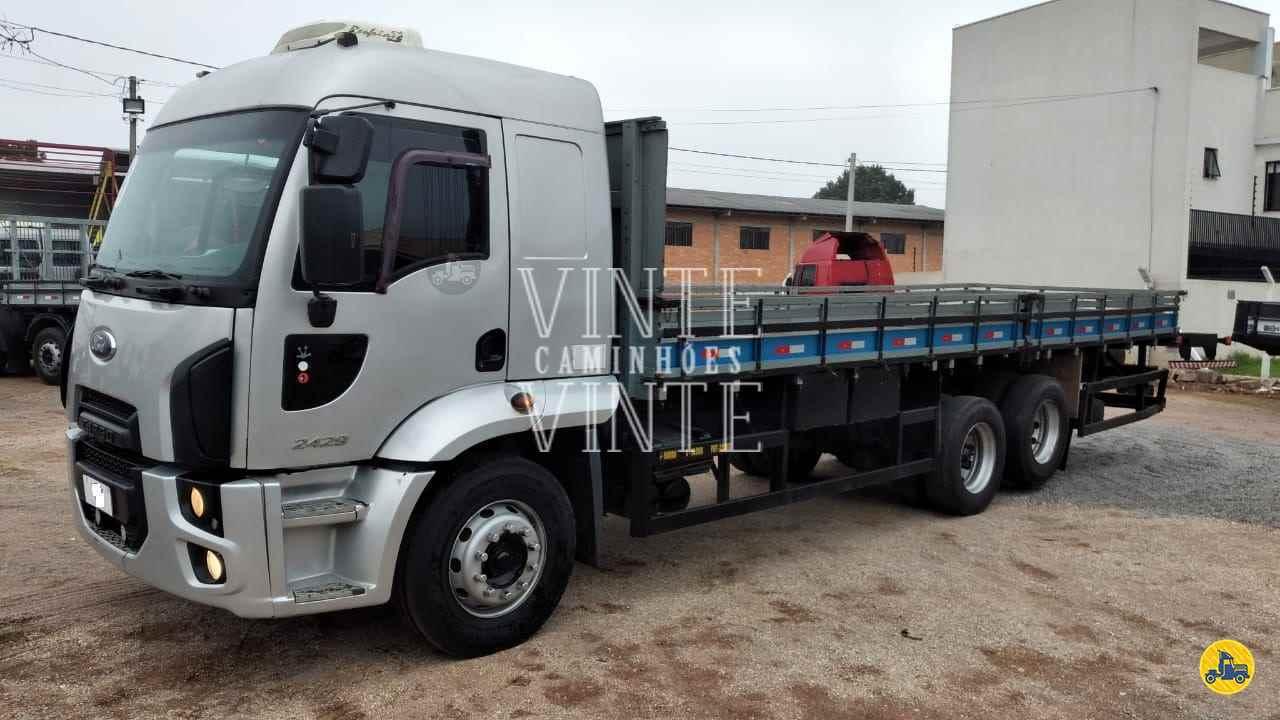 CAMINHAO FORD CARGO 2429 Carga Seca Truck 6x2 Vinte-Vinte Caminhões SANTO ANDRE SÃO PAULO SP