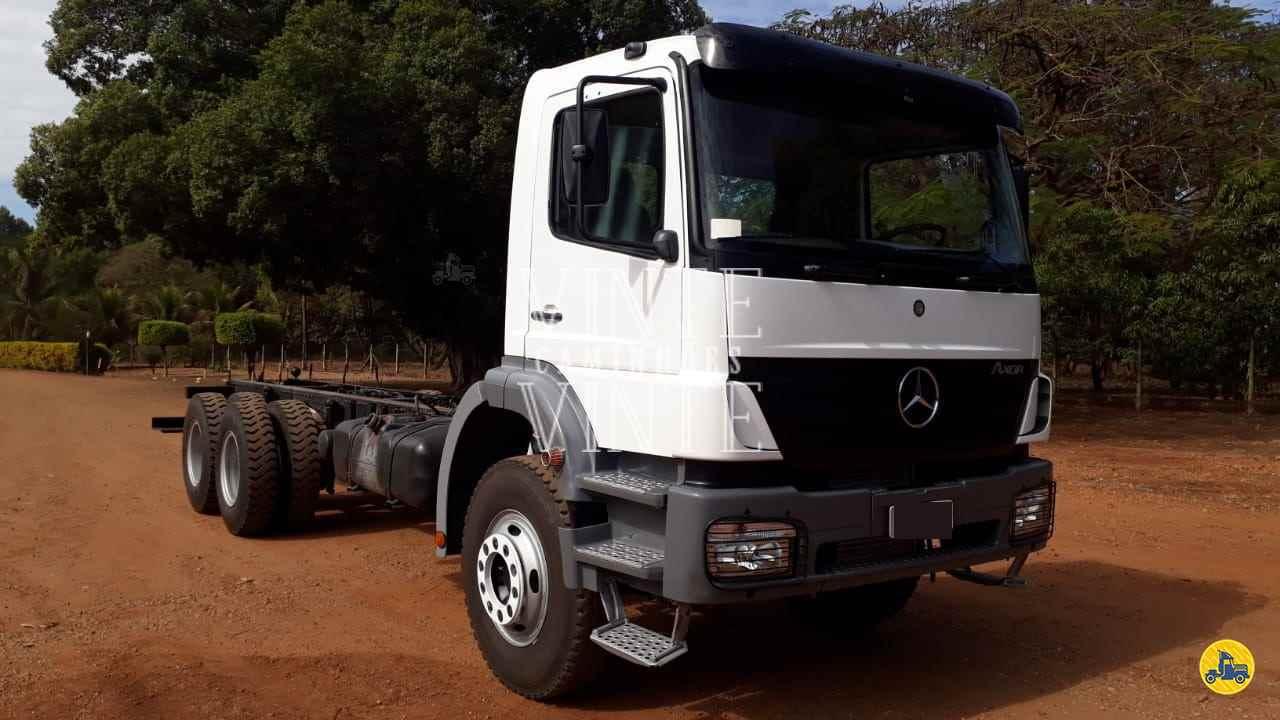 CAMINHAO MERCEDES-BENZ MB 2831 Chassis Traçado 6x4 Vinte-Vinte Caminhões SANTO ANDRE SÃO PAULO SP