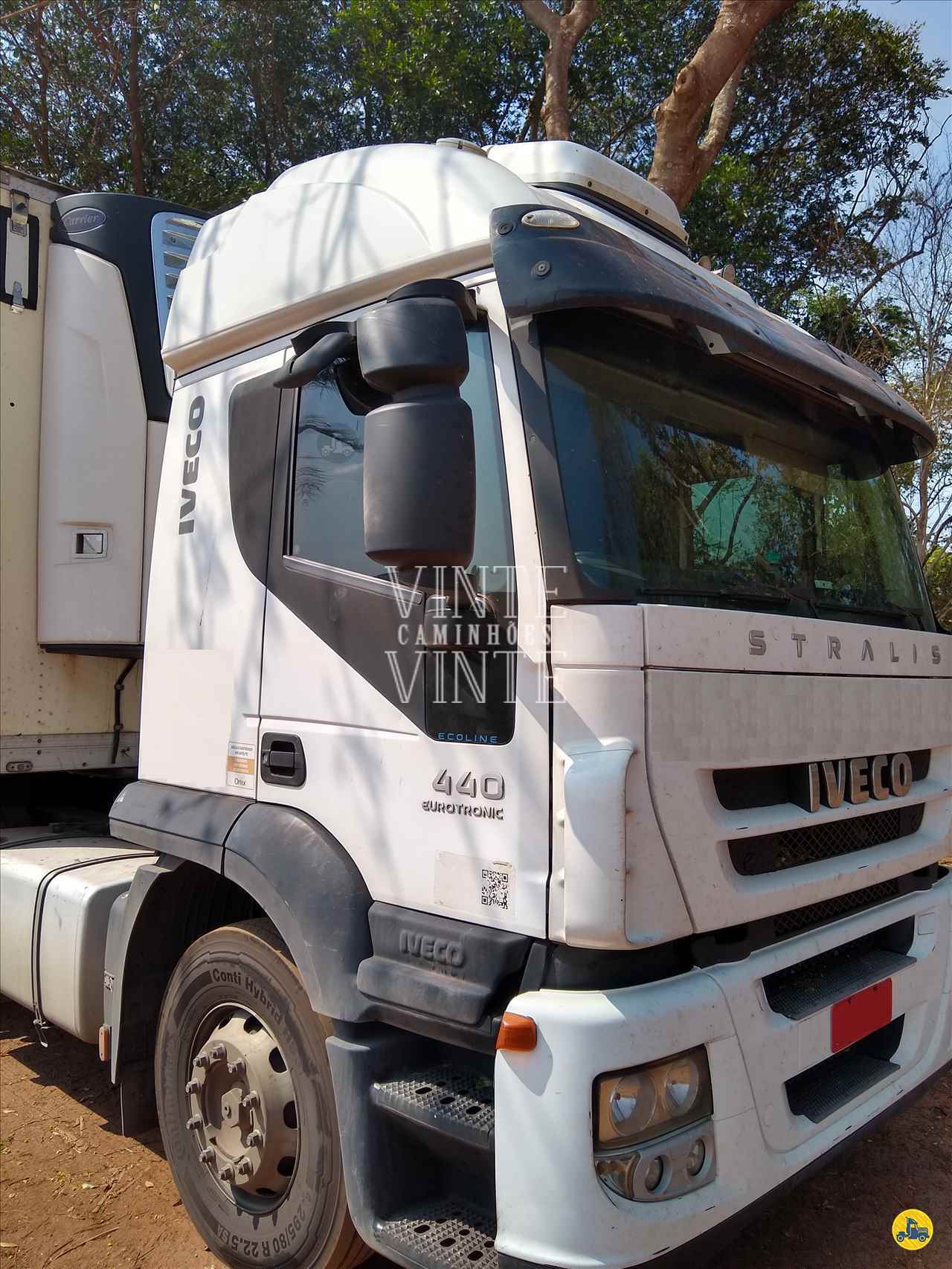CAMINHAO IVECO STRALIS 440 Cavalo Mecânico Truck 6x2 Vinte-Vinte Caminhões SANTO ANDRE SÃO PAULO SP