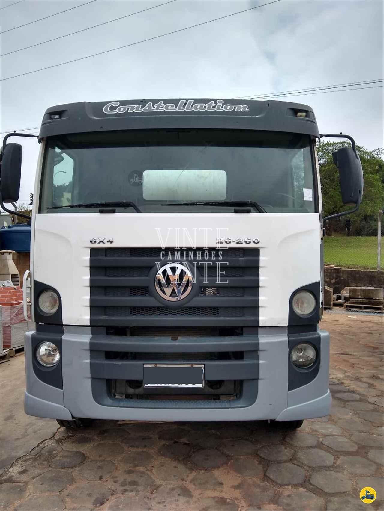 CAMINHAO VOLKSWAGEN VW 26260 Betoneira Traçado 6x4 Vinte-Vinte Caminhões SANTO ANDRE SÃO PAULO SP