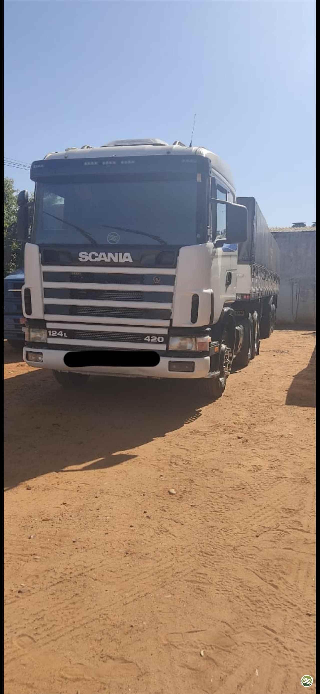 CAMINHAO SCANIA SCANIA 124 420 Cavalo Mecânico Truck 6x2 JLC Máquinas SANTA MERCEDES SÃO PAULO SP