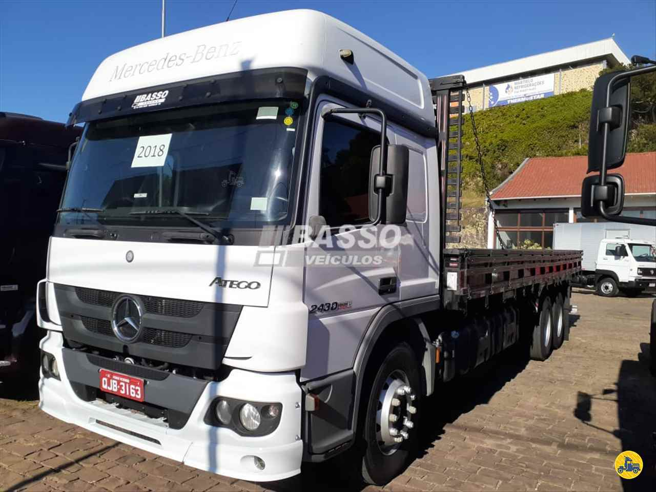 CAMINHAO MERCEDES-BENZ MB 2430 Chassis Truck 6x2 Basso Veículos GARIBALDI RIO GRANDE DO SUL RS