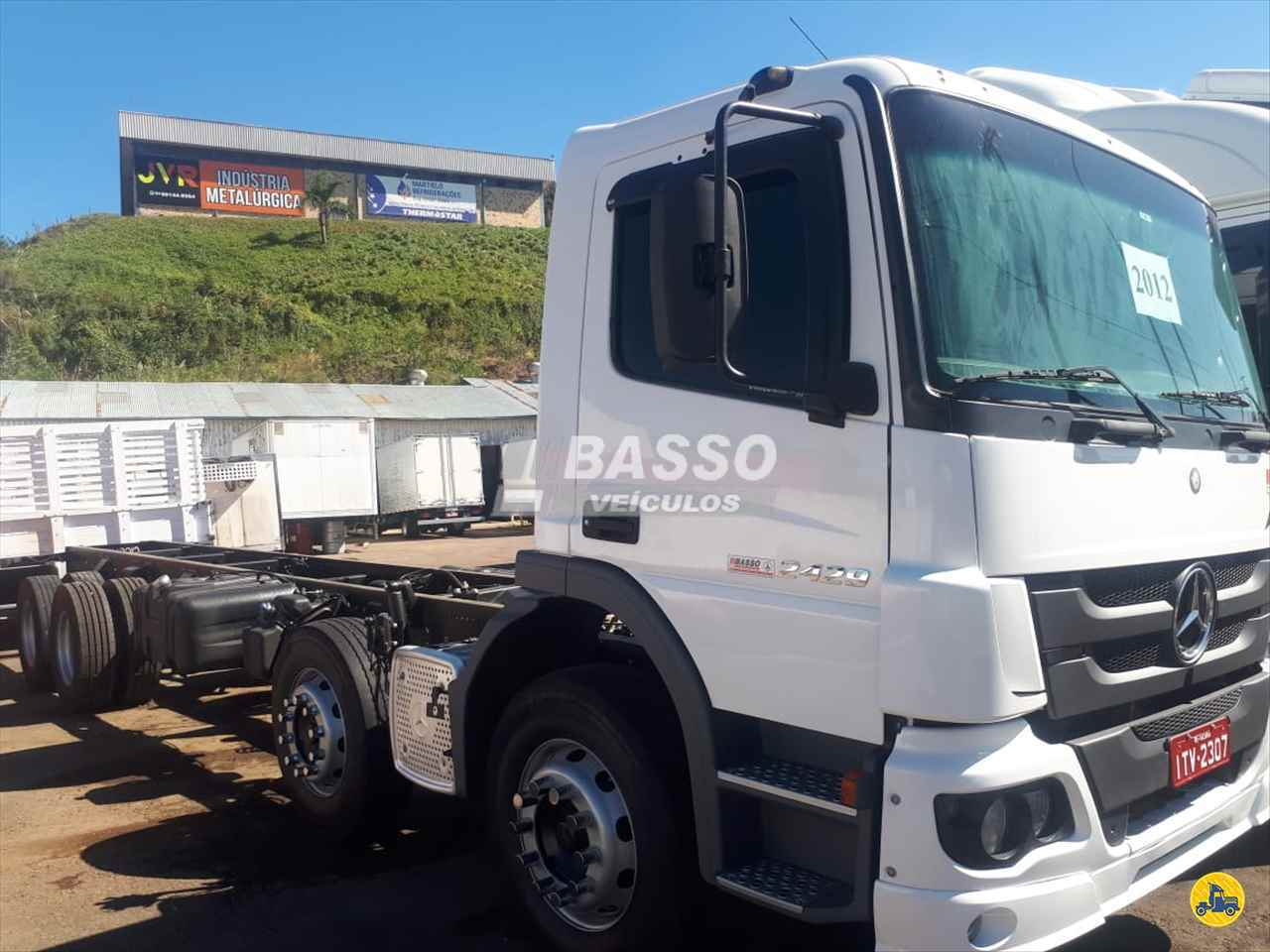 CAMINHAO MERCEDES-BENZ MB 2429 Chassis BiTruck 8x2 Basso Veículos GARIBALDI RIO GRANDE DO SUL RS