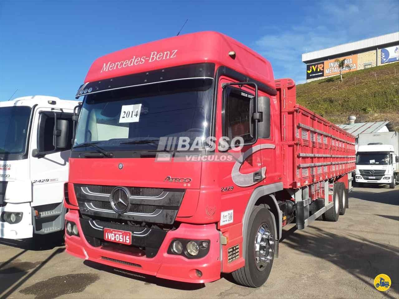 CAMINHAO MERCEDES-BENZ MB 2429 Carga Seca Truck 6x2 Basso Veículos GARIBALDI RIO GRANDE DO SUL RS