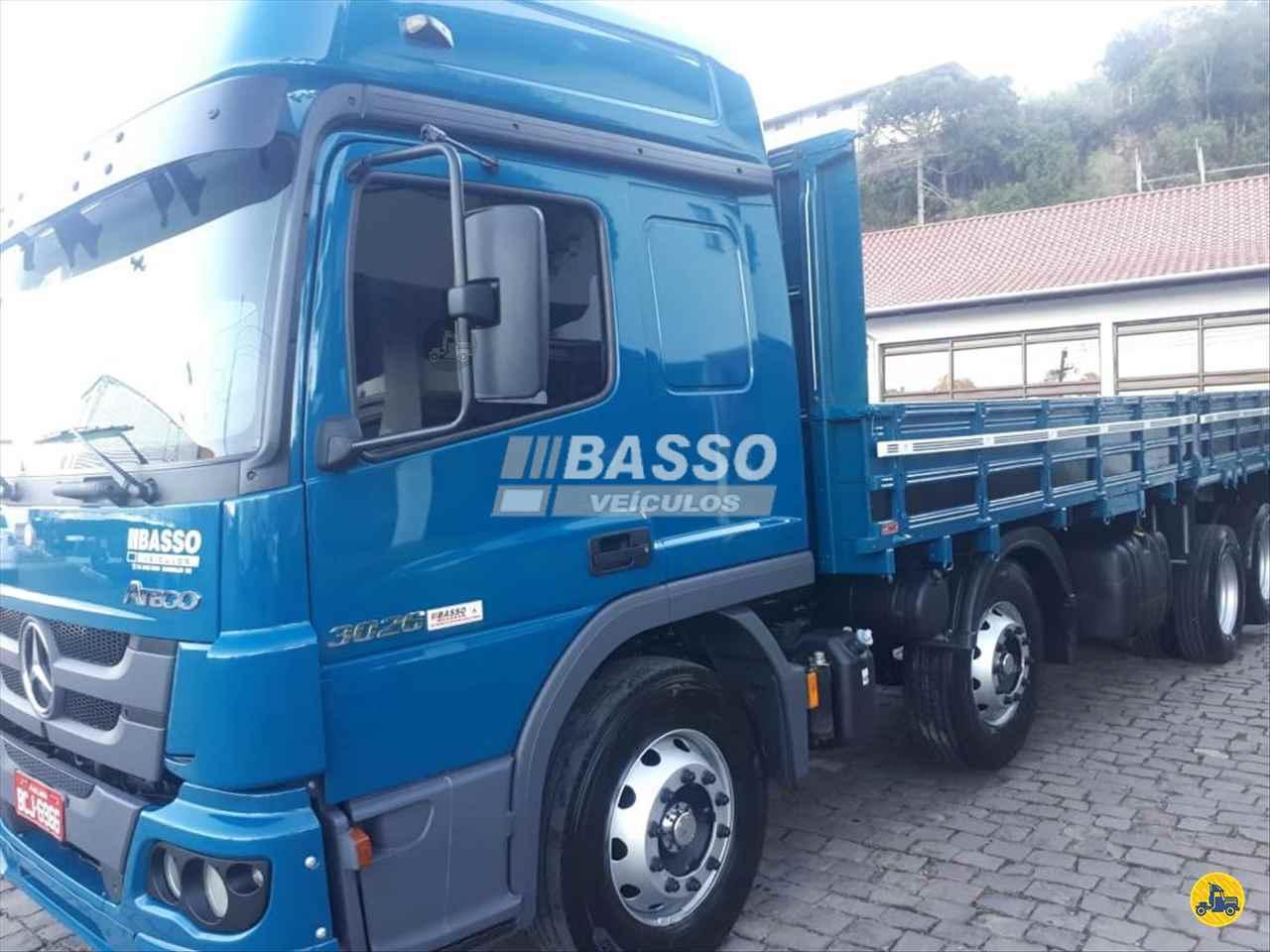 CAMINHAO MERCEDES-BENZ MB 3026 Carga Seca BiTruck 8x2 Basso Veículos GARIBALDI RIO GRANDE DO SUL RS