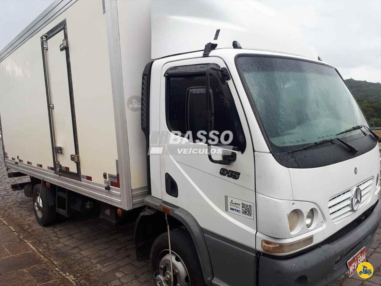 CAMINHAO MERCEDES-BENZ MB 915 Baú Frigorífico 3/4 4x2 Basso Veículos GARIBALDI RIO GRANDE DO SUL RS