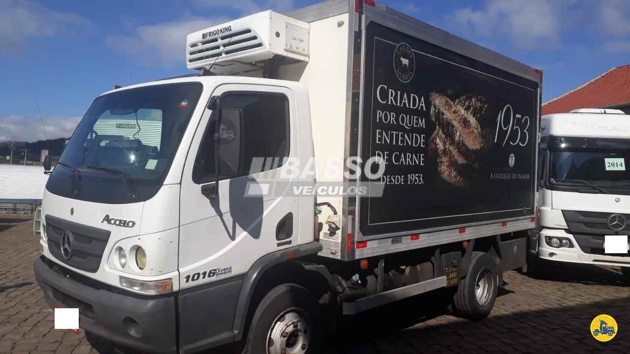 CAMINHAO MERCEDES-BENZ MB 1016 Baú Frigorífico 3/4 4x2 Basso Veículos GARIBALDI RIO GRANDE DO SUL RS