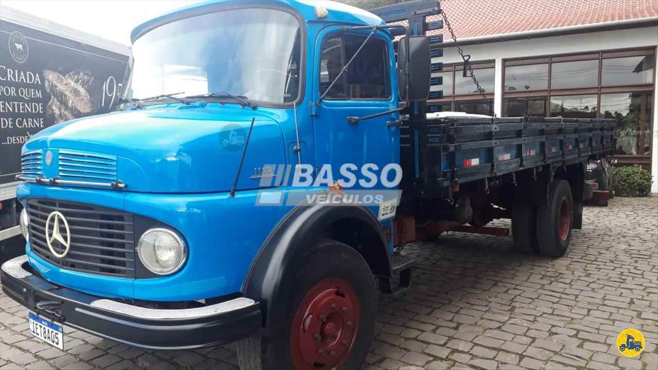 CAMINHAO MERCEDES-BENZ MB 1113 Carga Seca Toco 4x2 Basso Veículos GARIBALDI RIO GRANDE DO SUL RS