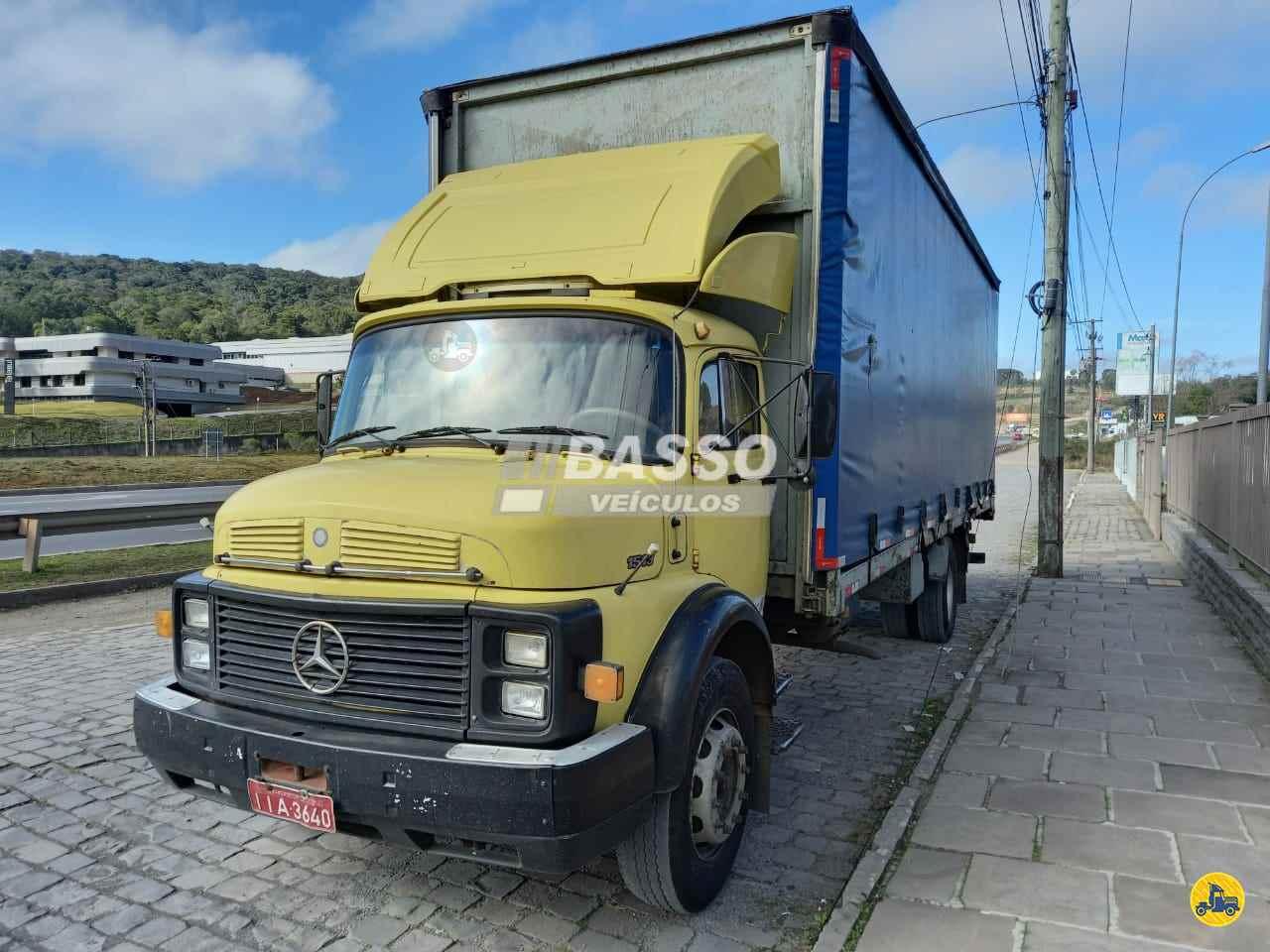 CAMINHAO MERCEDES-BENZ MB 1513 Baú Sider Toco 4x2 Basso Veículos GARIBALDI RIO GRANDE DO SUL RS