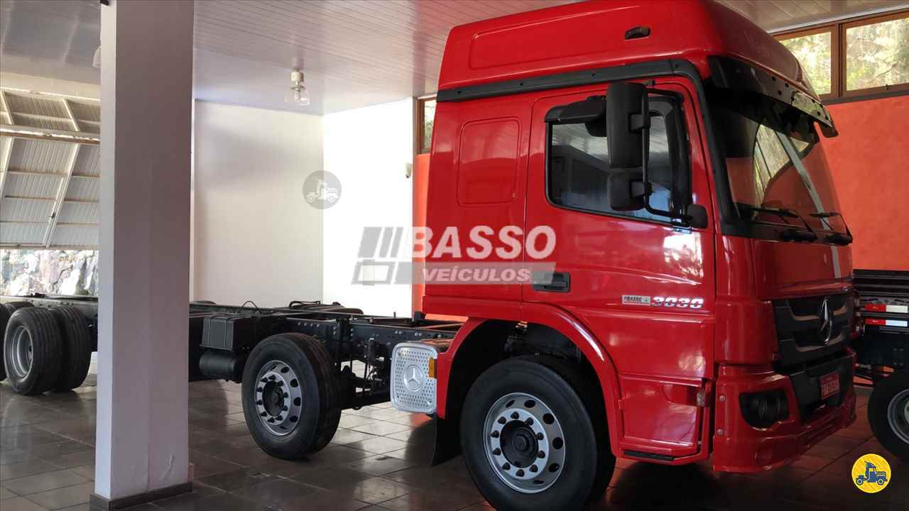 CAMINHAO MERCEDES-BENZ MB 3030 Chassis BiTruck 8x2 Basso Veículos GARIBALDI RIO GRANDE DO SUL RS