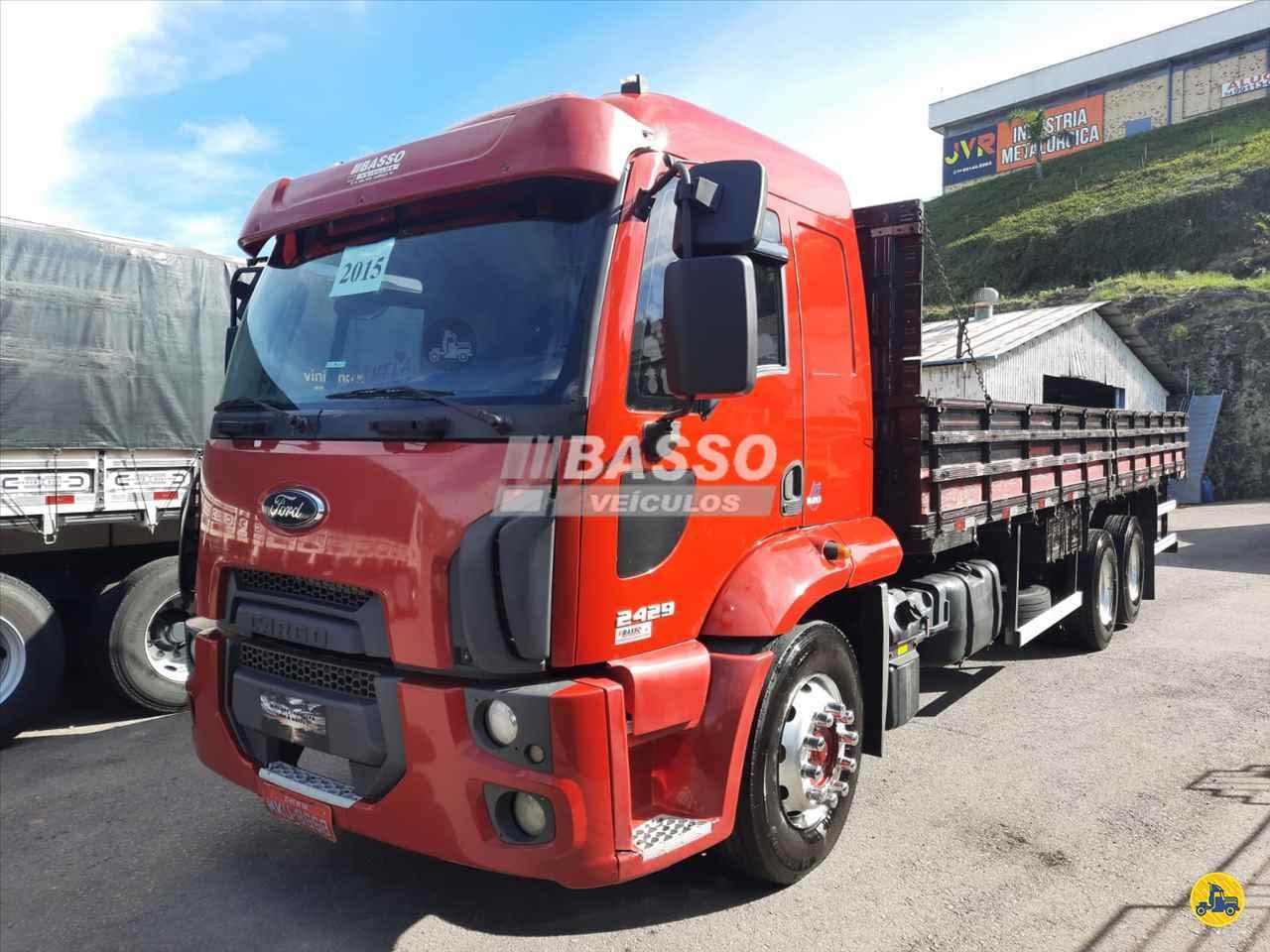 CAMINHAO FORD CARGO 2429 Graneleiro Truck 6x2 Basso Veículos GARIBALDI RIO GRANDE DO SUL RS