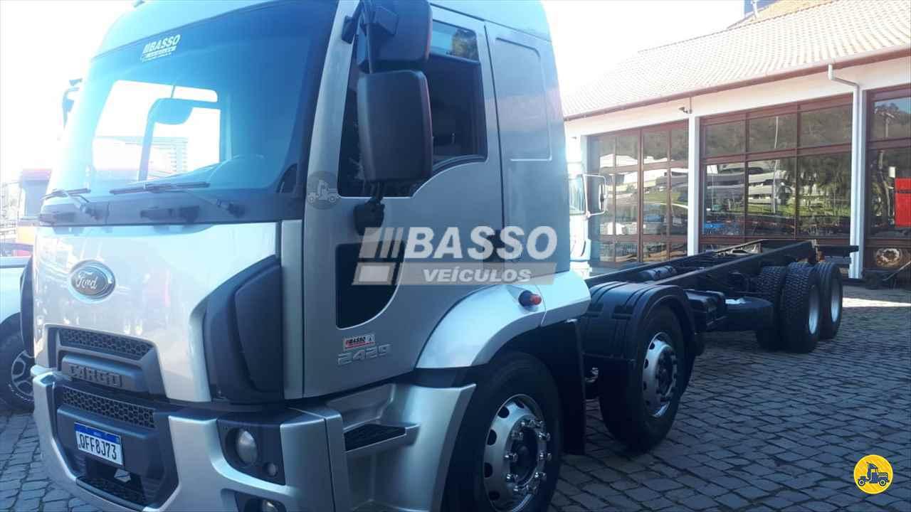 CAMINHAO FORD CARGO 2429 Chassis BiTruck 8x2 Basso Veículos GARIBALDI RIO GRANDE DO SUL RS