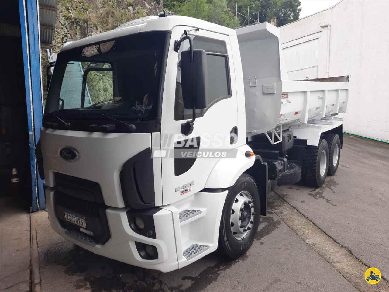 CAMINHAO FORD CARGO 2422 Caçamba Basculante Truck 6x2 Basso Veículos GARIBALDI RIO GRANDE DO SUL RS