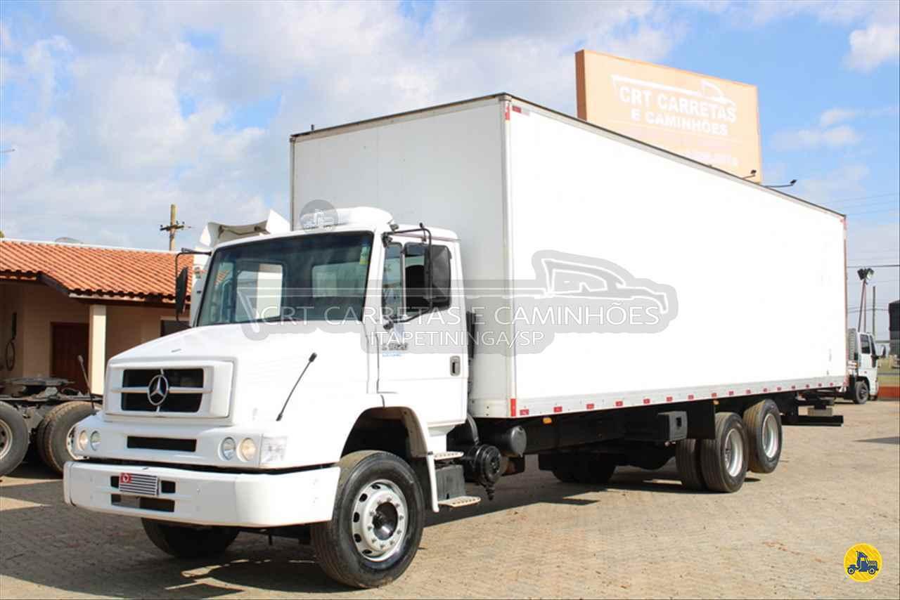 CAMINHAO MERCEDES-BENZ MB 1620 Baú Furgão Truck 6x2 CRT Carretas ITAPETININGA SÃO PAULO SP