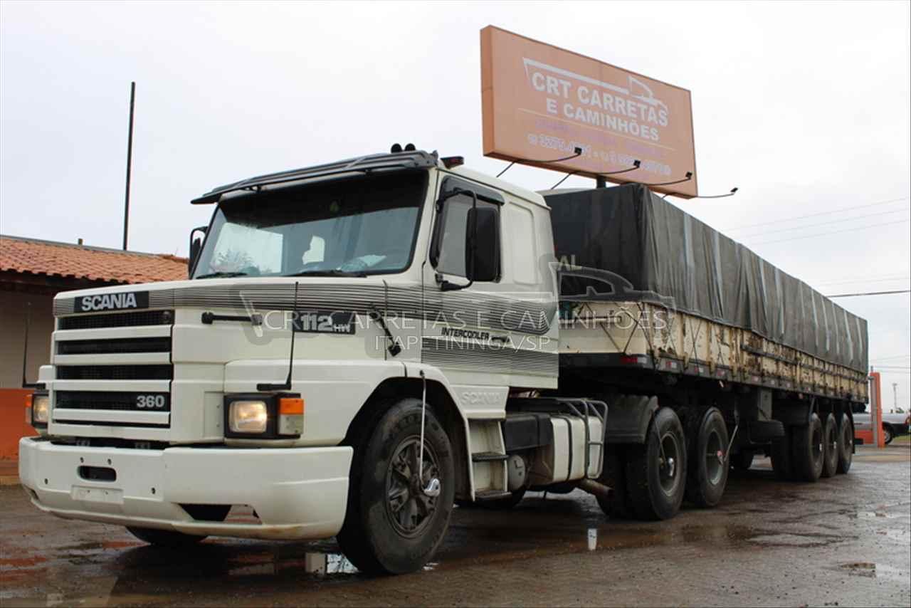 CAMINHAO SCANIA SCANIA 112 360 Graneleiro Truck 6x2 CRT Carretas ITAPETININGA SÃO PAULO SP