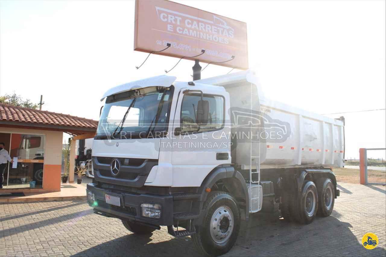 CAMINHAO MERCEDES-BENZ MB 3131 Caçamba Basculante Traçado 6x4 CRT Carretas ITAPETININGA SÃO PAULO SP