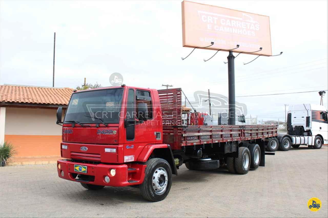 CAMINHAO FORD CARGO 2422 Carga Seca Truck 6x2 CRT Carretas ITAPETININGA SÃO PAULO SP