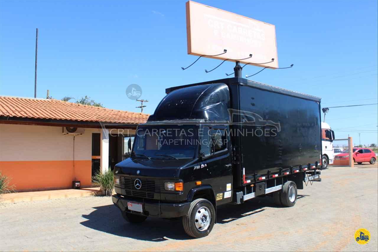 CAMINHAO MERCEDES-BENZ MB 710 Baú Sider 3/4 4x2 CRT Carretas ITAPETININGA SÃO PAULO SP