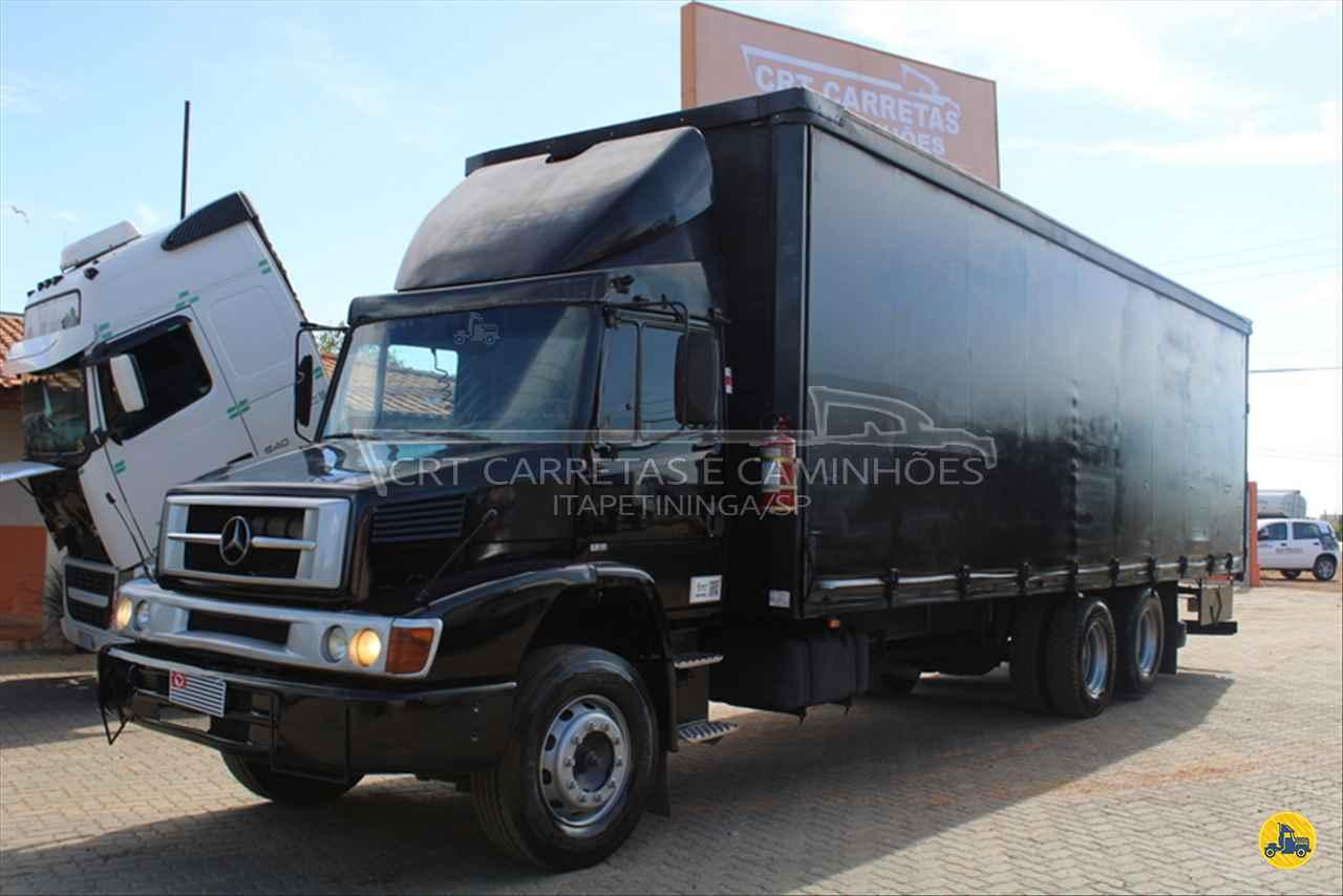 CAMINHAO MERCEDES-BENZ MB 1620 Baú Sider Truck 6x2 CRT Carretas ITAPETININGA SÃO PAULO SP