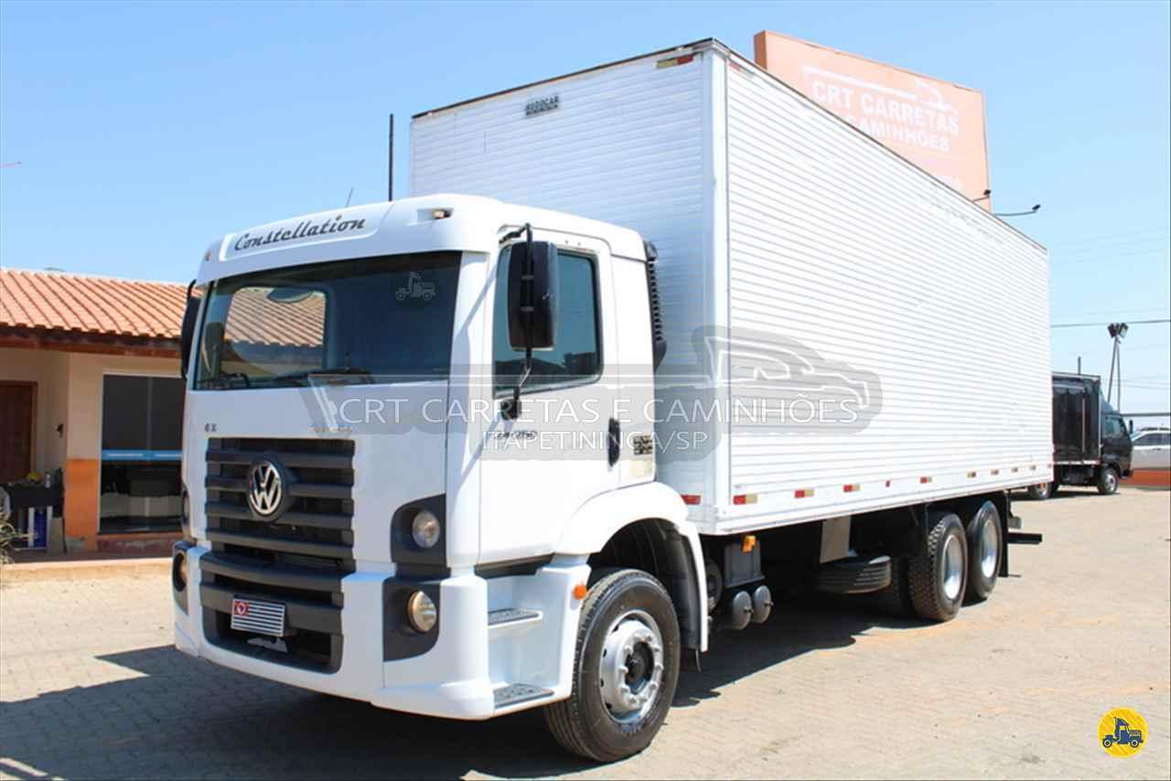CAMINHAO VOLKSWAGEN VW 24250 Baú Furgão Truck 6x2 CRT Carretas ITAPETININGA SÃO PAULO SP
