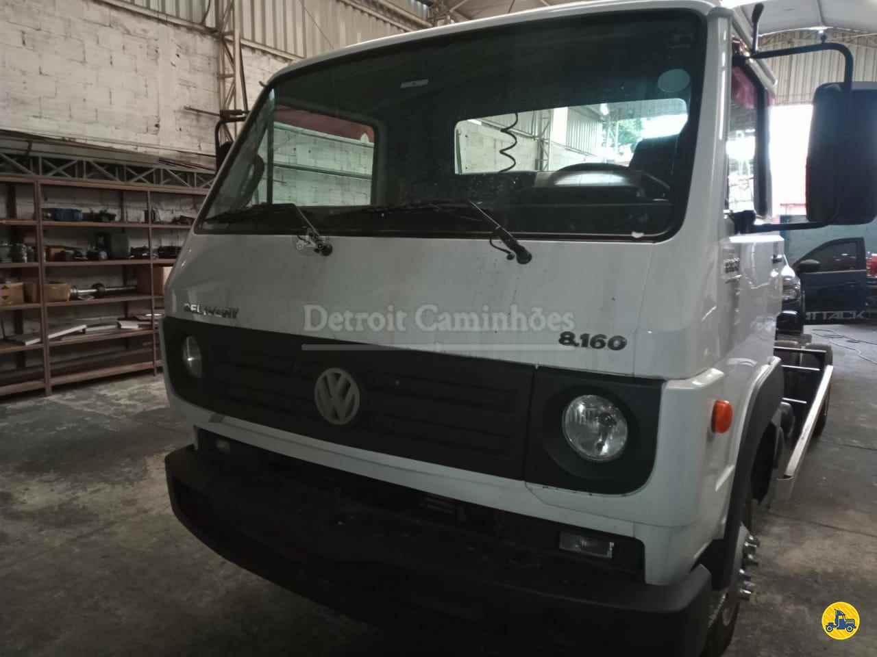 CAMINHAO VOLKSWAGEN VW 8160 Chassis Toco 4x2 Detroit Caminhões SAO JOSE DOS CAMPOS SÃO PAULO SP
