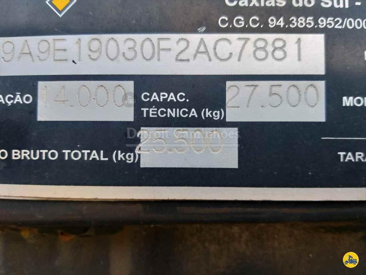 SEMI-REBOQUE PRANCHA  2005/2005 Detroit Caminhões