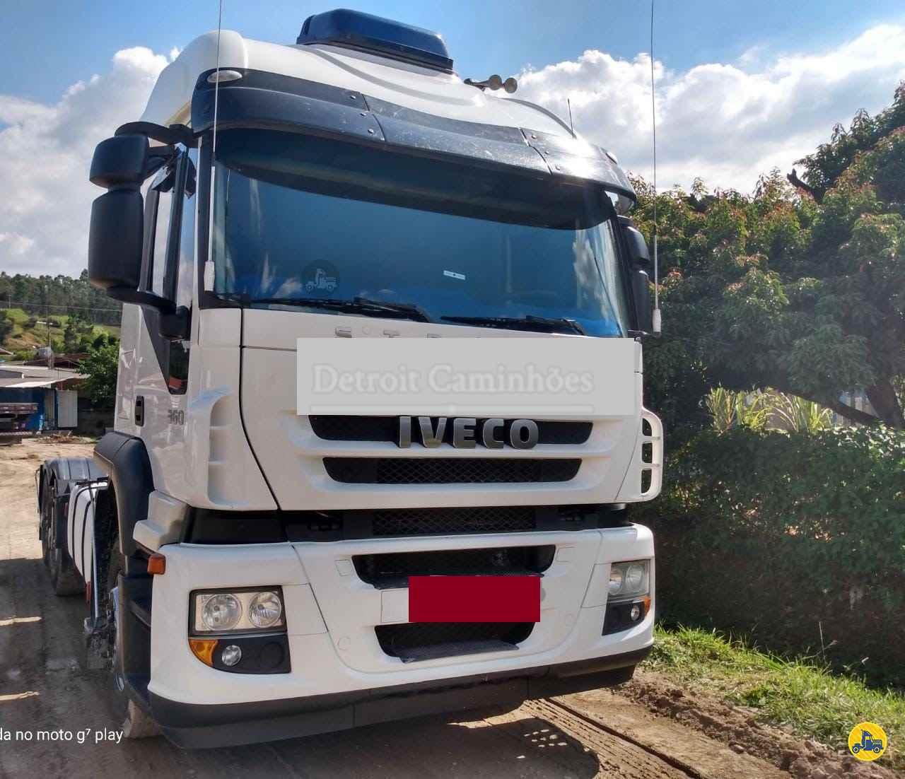 CAMINHAO IVECO STRALIS 360 Cavalo Mecânico Truck 6x2 Detroit Caminhões SAO JOSE DOS CAMPOS SÃO PAULO SP