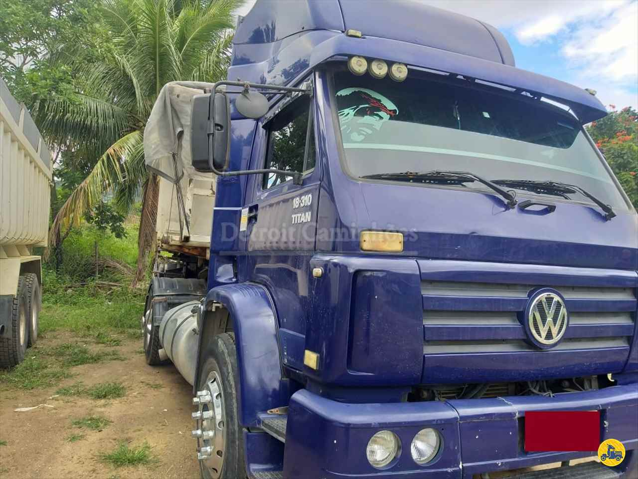 CAMINHAO VOLKSWAGEN VW 18310 Caçamba Basculante Toco 4x2 Detroit Caminhões SAO JOSE DOS CAMPOS SÃO PAULO SP