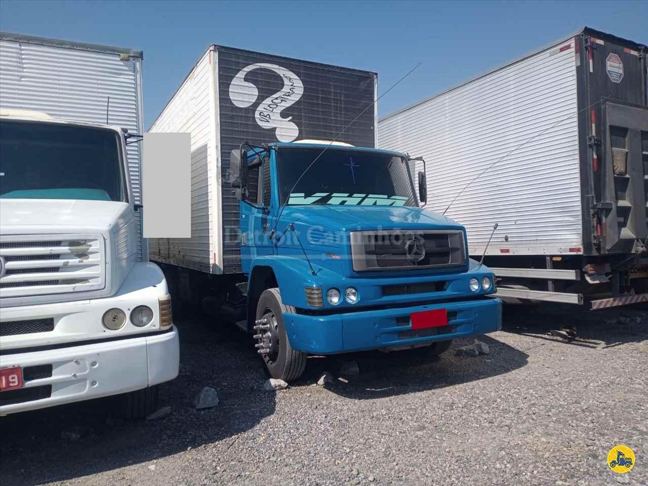 CAMINHAO MERCEDES-BENZ MB 1620 Baú Furgão Truck 6x2 Detroit Caminhões SAO JOSE DOS CAMPOS SÃO PAULO SP