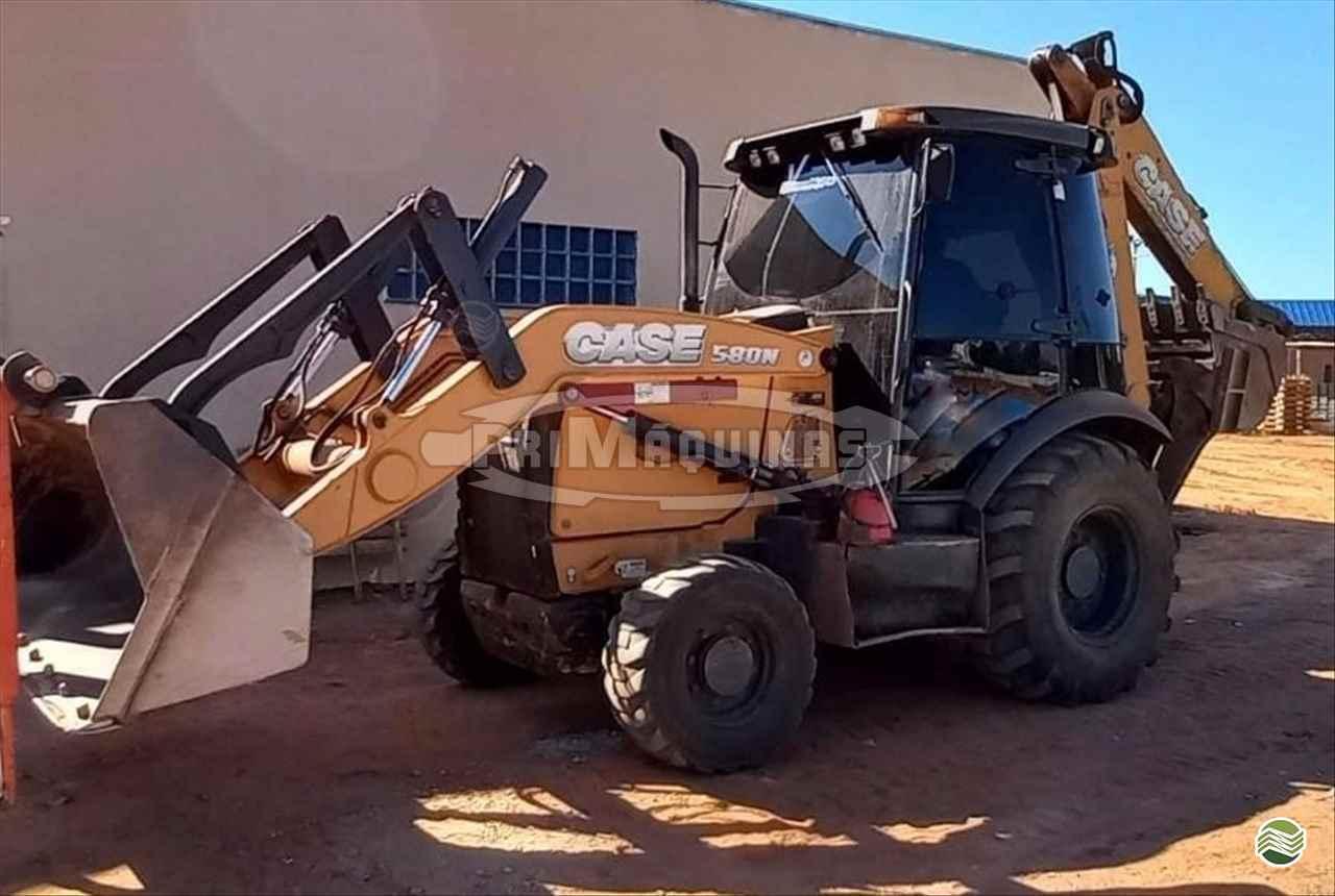 RETRO ESCAVADEIRA CASE 580N Tração 4x4 PriMáquinas PRIMAVERA DO LESTE MATO GROSSO MT