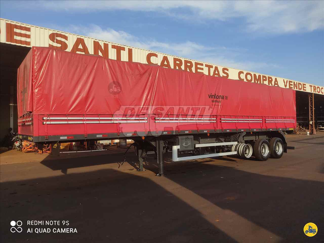 SEMI-REBOQUE GRANELEIRO  2012/2013 De Santi Carretas
