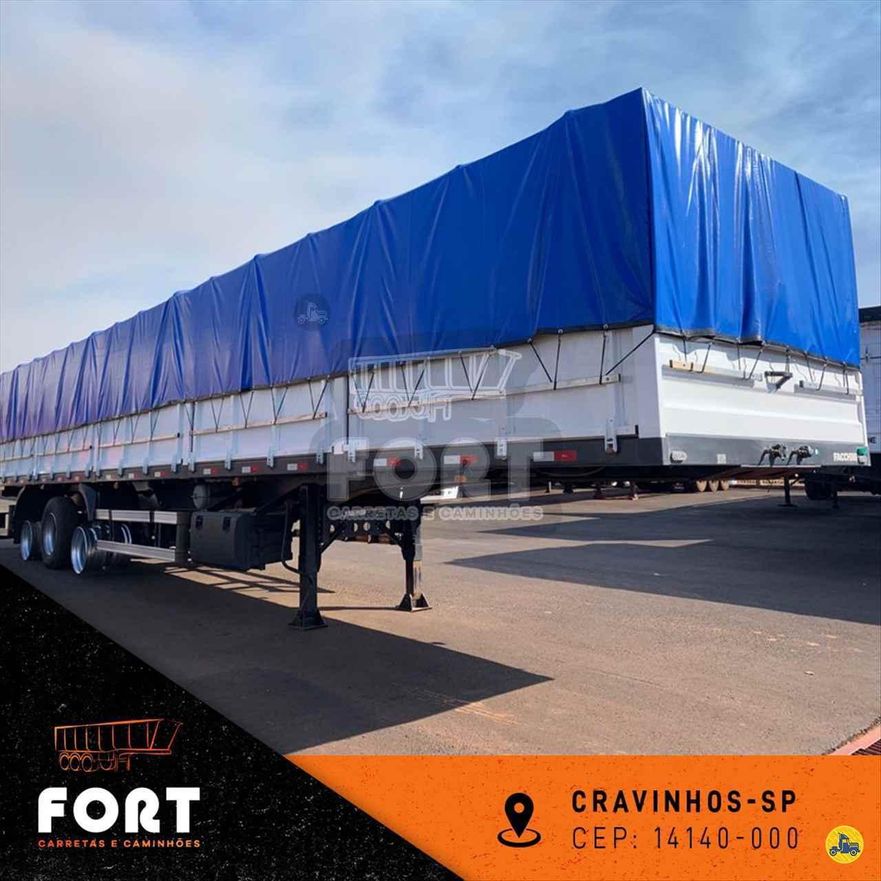 CARRETA SEMI-REBOQUE GRANELEIRO Fort Carretas e Caminhões CRAVINHOS SÃO PAULO SP