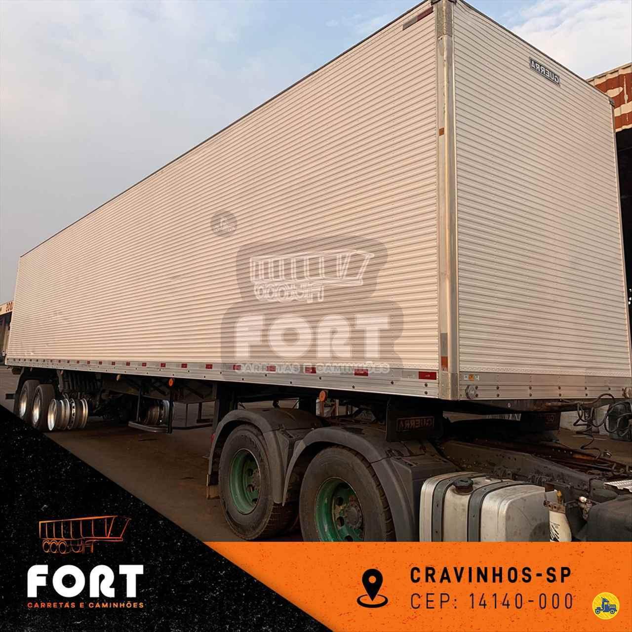CARRETA SEMI-REBOQUE BAU FURGÃO Fort Carretas e Caminhões CRAVINHOS SÃO PAULO SP