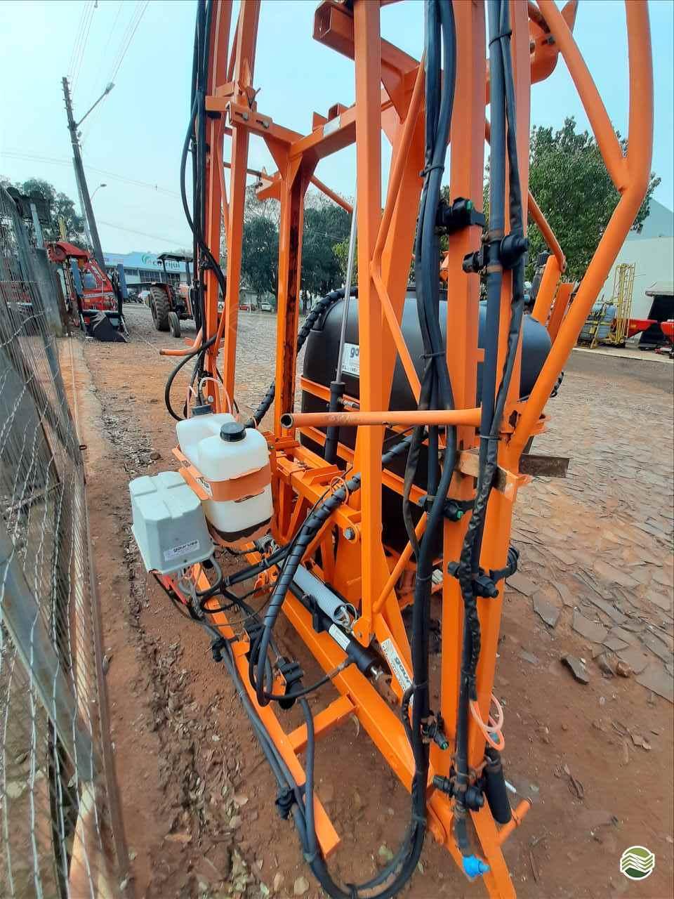 PULVERIZADOR GAURUS GA 600 Acoplado Hidráulico Agrocia Implementos Agricolas AJURICABA RIO GRANDE DO SUL RS