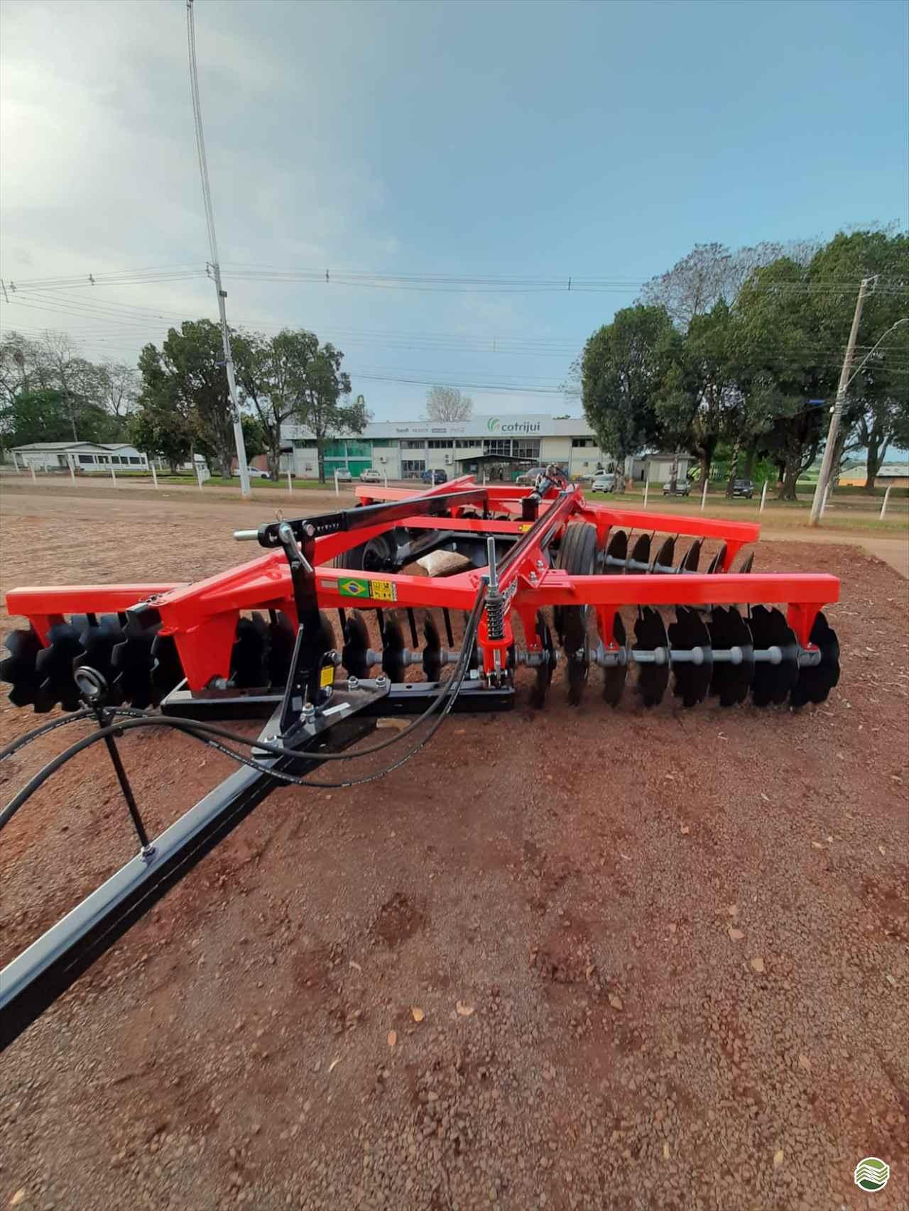 IMPLEMENTOS AGRICOLAS GRADE NIVELADORA NIVELADORA 44 DISCOS Agrocia Implementos Agricolas AJURICABA RIO GRANDE DO SUL RS