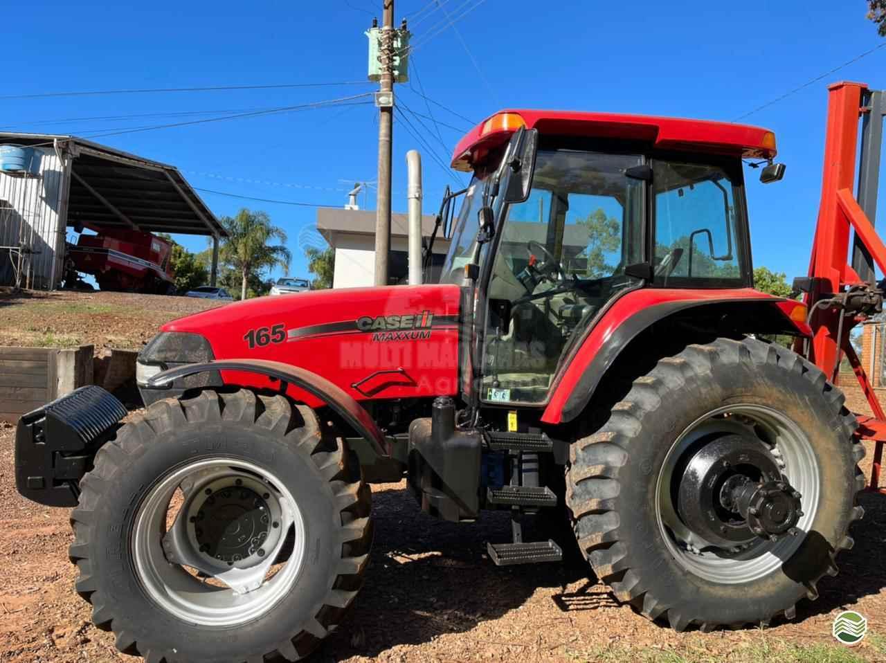 TRATOR CASE CASE MX 165 Tração 4x4 Multi Máquinas SANTA BARBARA DO SUL RIO GRANDE DO SUL RS