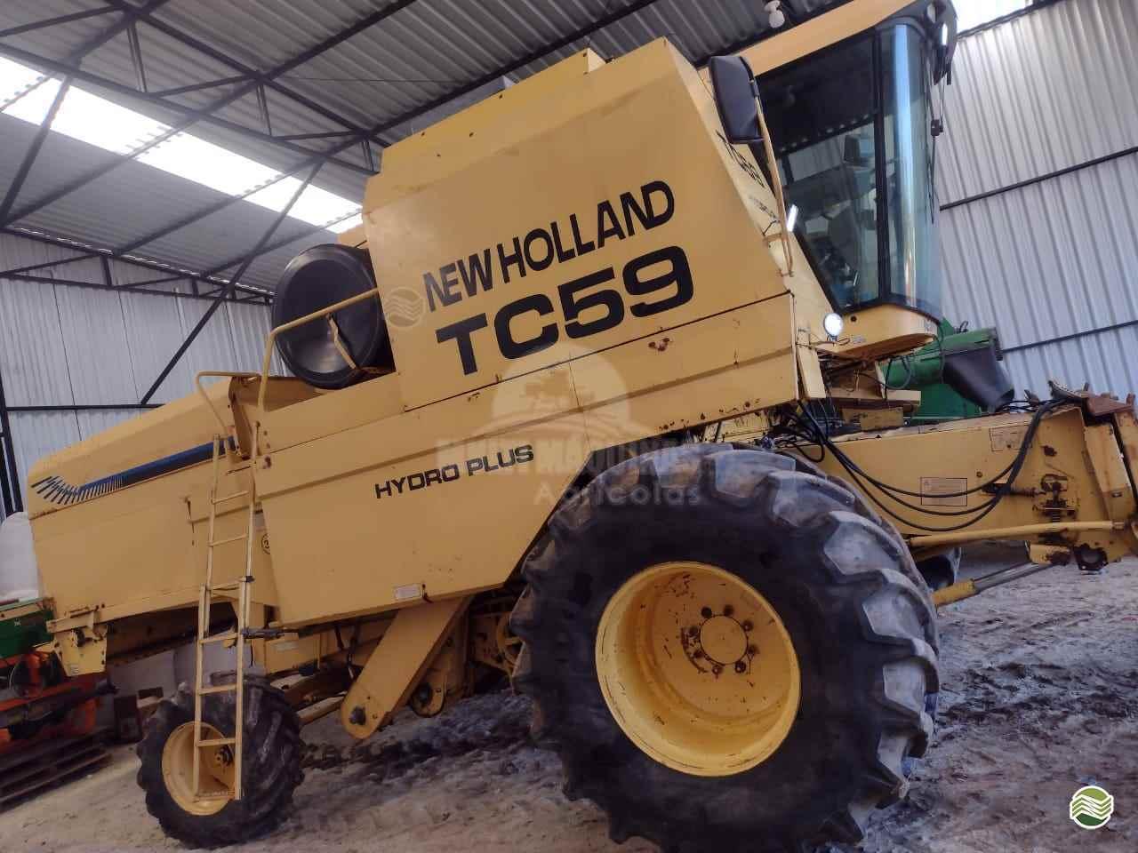 COLHEITADEIRA NEW HOLLAND TC 59 Multi Máquinas SANTA BARBARA DO SUL RIO GRANDE DO SUL RS