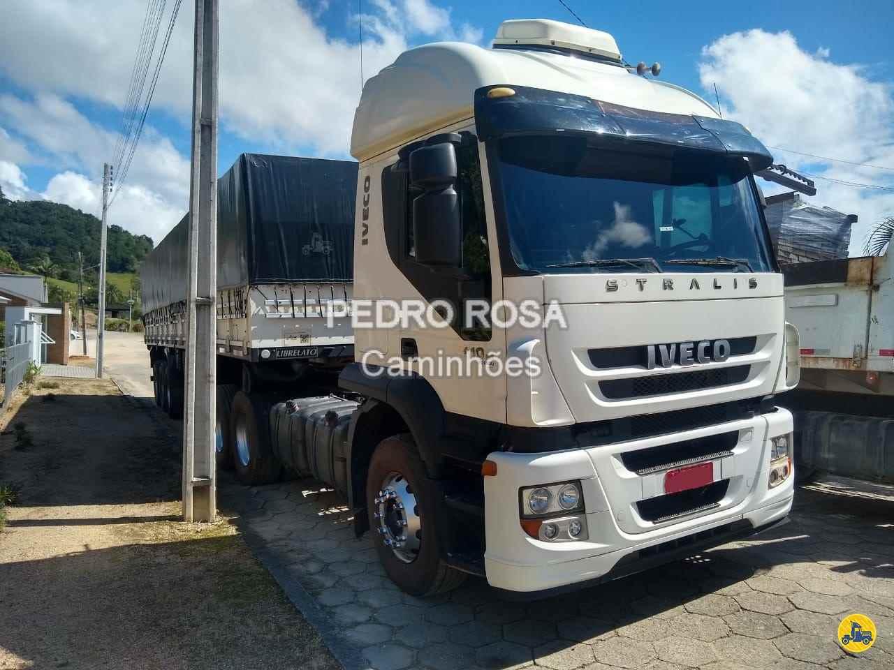 CAMINHAO IVECO STRALIS 410 Cavalo Mecânico Truck 6x2 Pedro Rosa Caminhões PICARRAS SANTA CATARINA SC