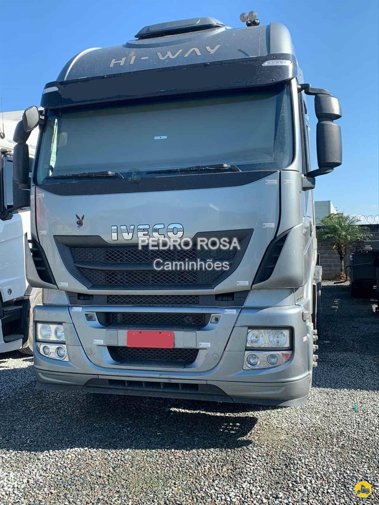 CAMINHAO IVECO STRALIS 440 Cavalo Mecânico Truck 6x2 Pedro Rosa Caminhões PICARRAS SANTA CATARINA SC