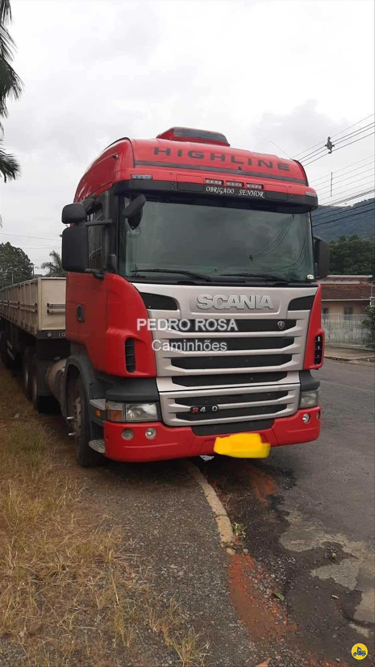 CAMINHAO SCANIA SCANIA 440 Cavalo Mecânico Truck 6x2 Pedro Rosa Caminhões PICARRAS SANTA CATARINA SC