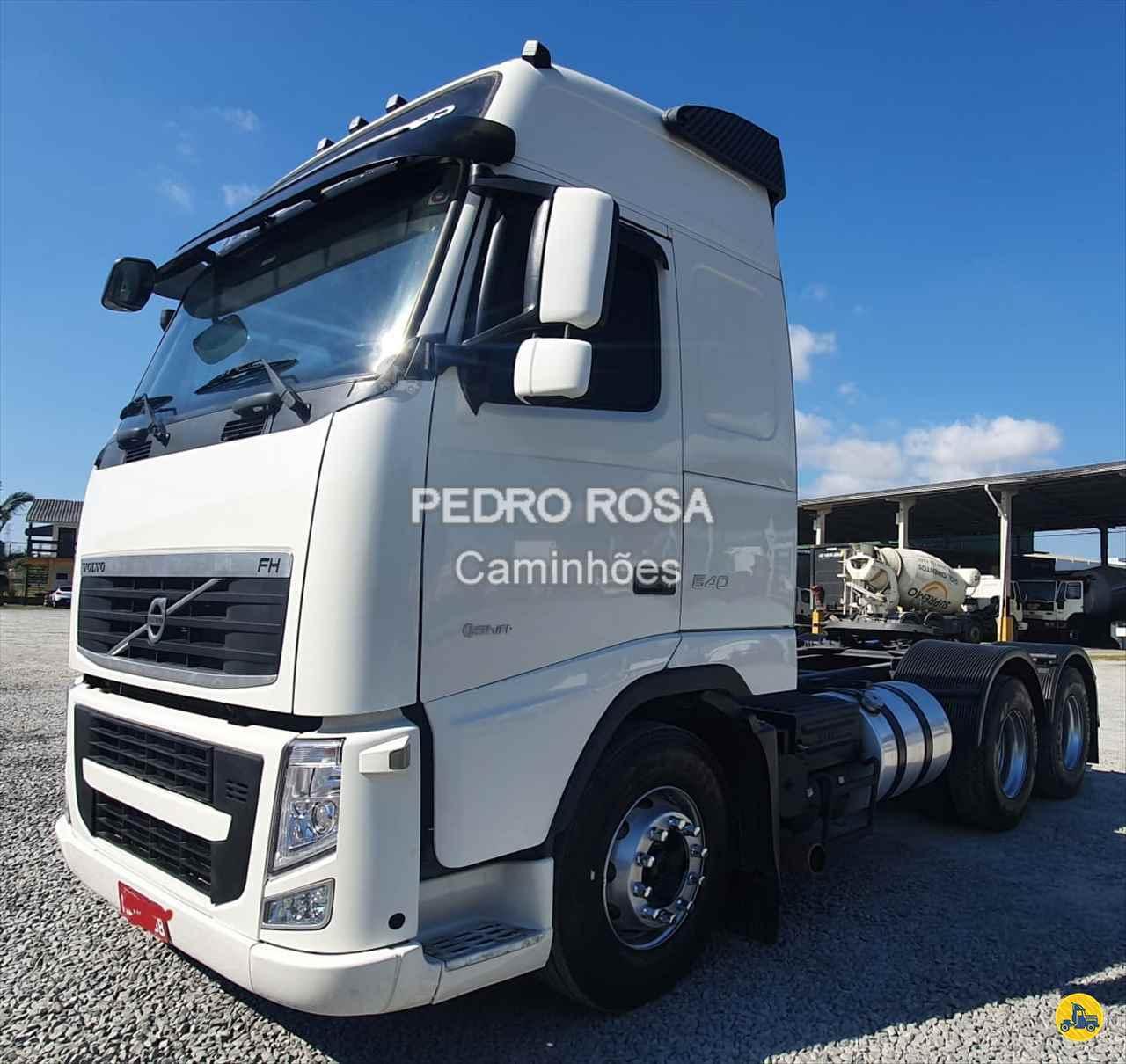 CAMINHAO VOLVO VOLVO FH 540 Cavalo Mecânico Traçado 6x4 Pedro Rosa Caminhões PICARRAS SANTA CATARINA SC