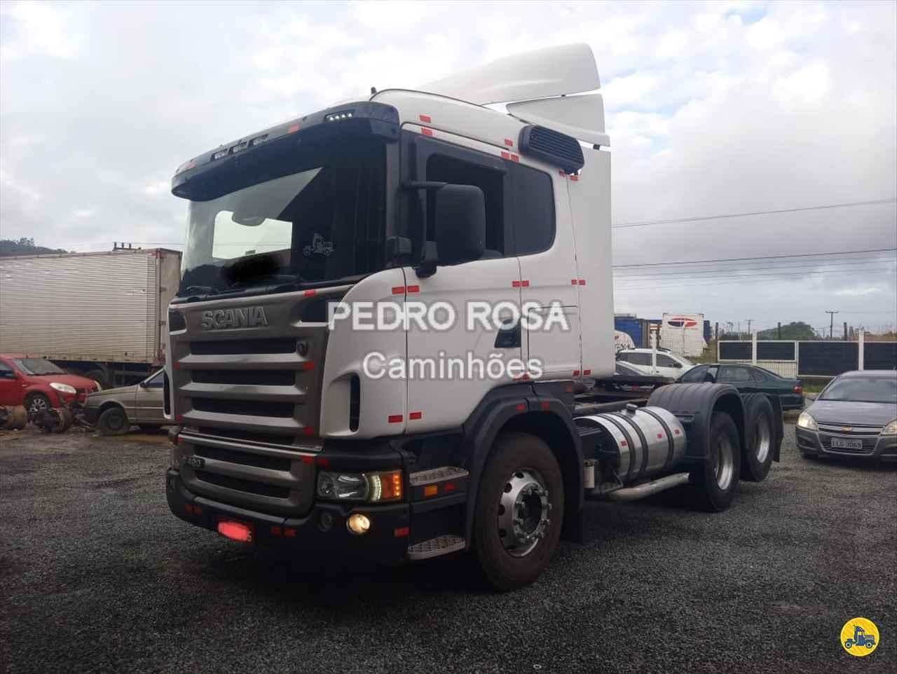 CAMINHAO SCANIA SCANIA 124 420 Cavalo Mecânico Truck 6x2 Pedro Rosa Caminhões PICARRAS SANTA CATARINA SC