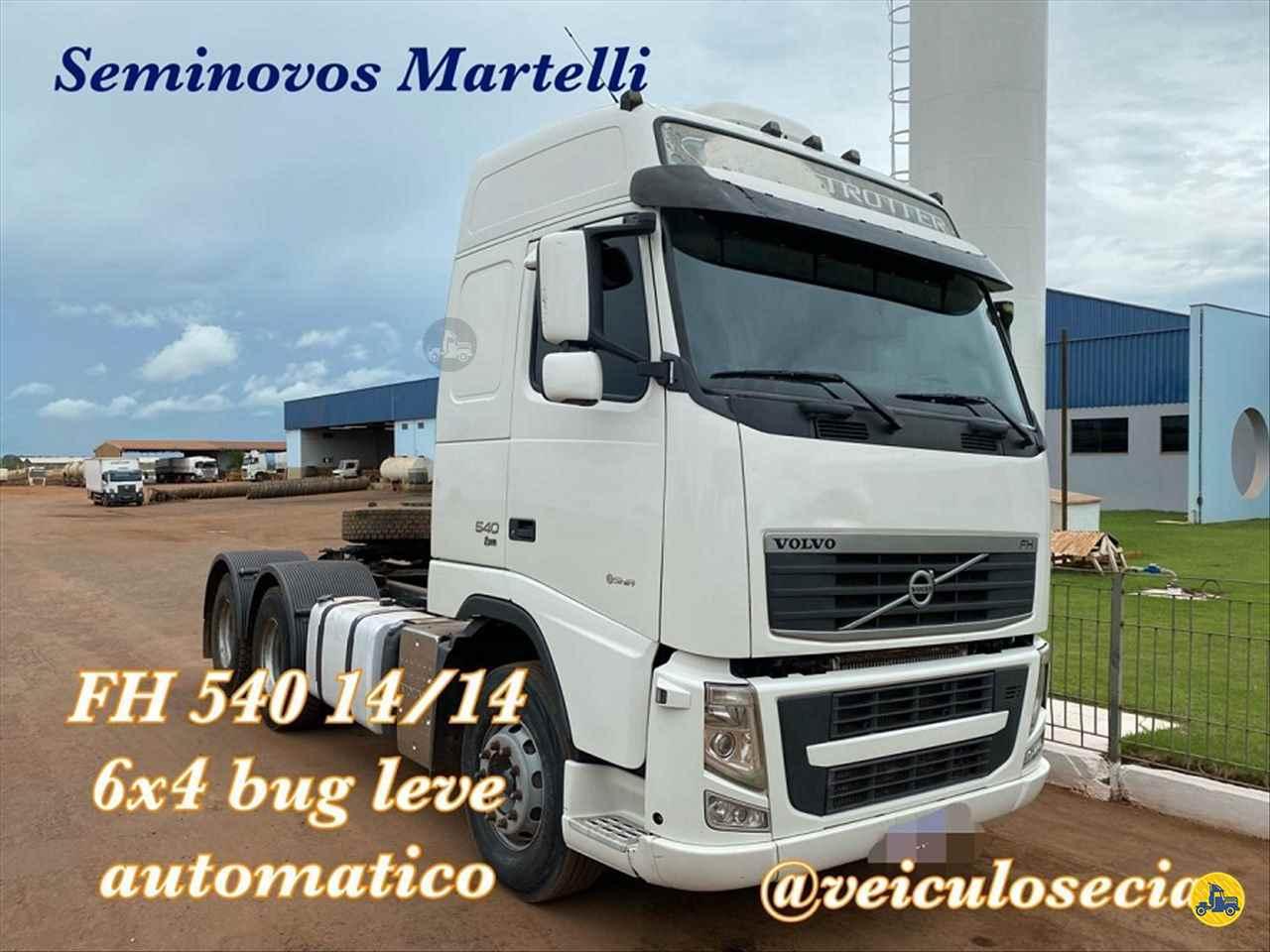 CAMINHAO VOLVO VOLVO FH 540 Cavalo Mecânico Traçado 6x4 Veiculos e Cia JACIARA MATO GROSSO MT
