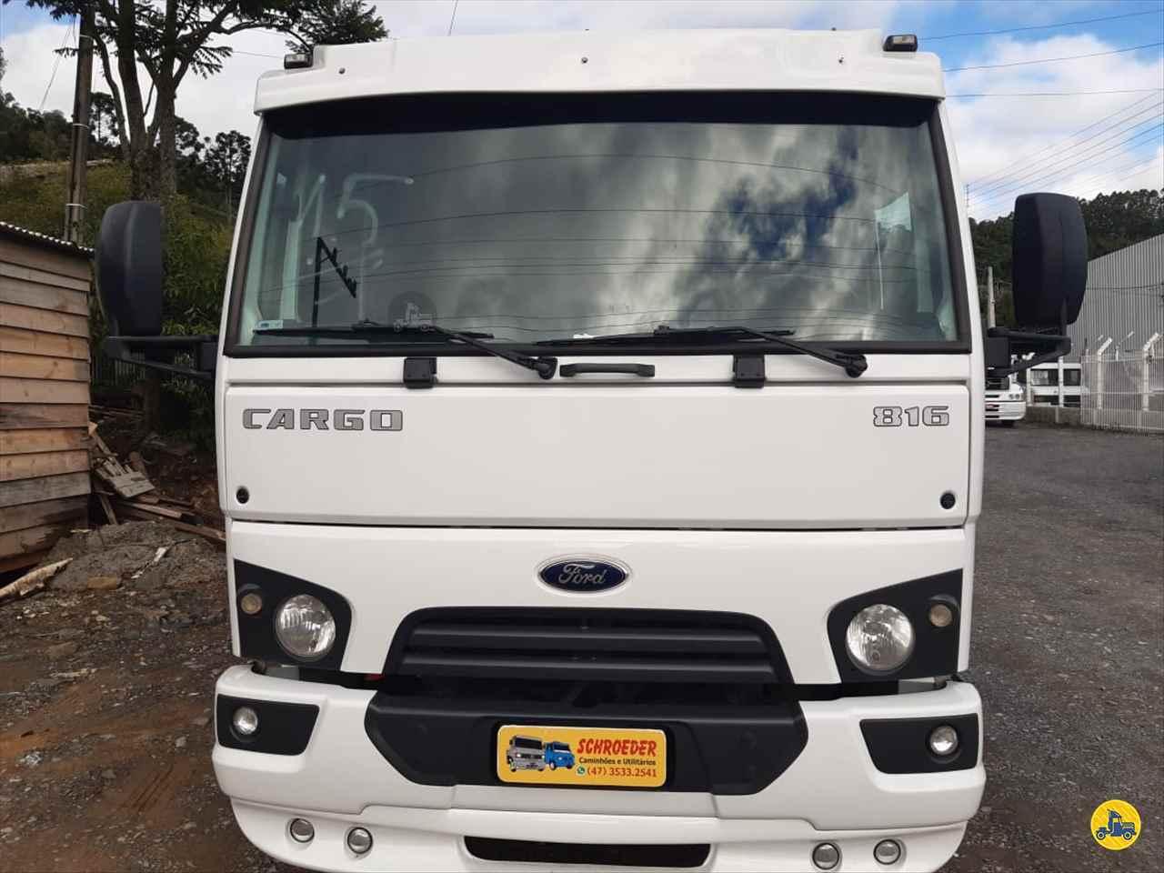 FORD CARGO 816  2014/2015 Schroeder Caminhões