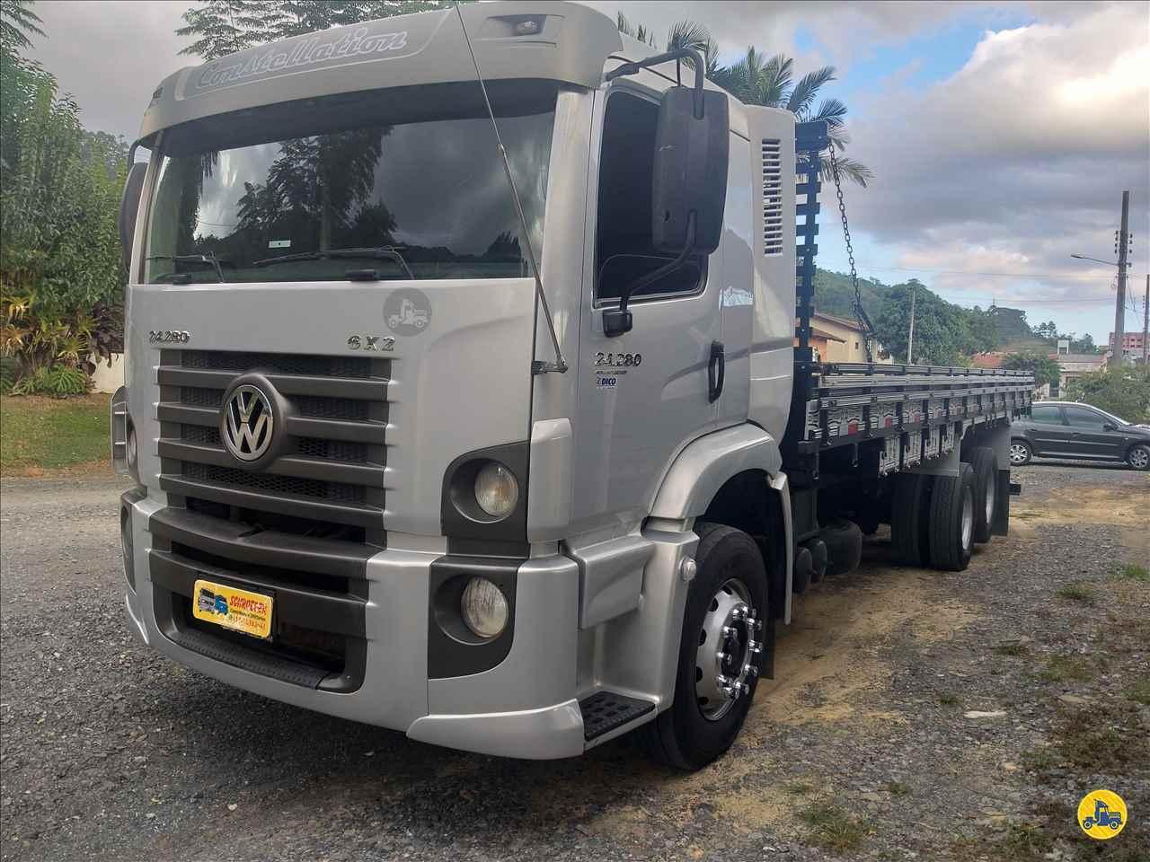 CAMINHAO VOLKSWAGEN VW 24280 Carga Seca Truck 6x2 Schroeder Caminhões ITUPORANGA SANTA CATARINA SC