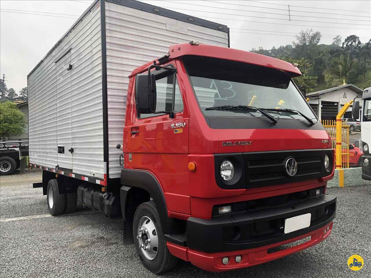 VW 8160 de Schroeder Caminhões - ITUPORANGA/SC