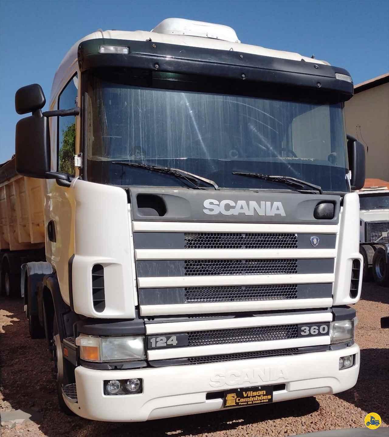 CAMINHAO SCANIA SCANIA 124 360 Cavalo Mecânico Truck 6x2 Vilson Caminhões  RONDONOPOLIS MATO GROSSO MT