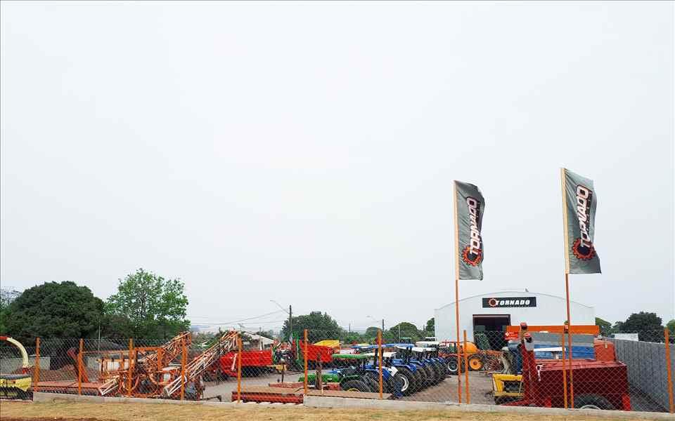 Foto da Loja da Tornado Tratores