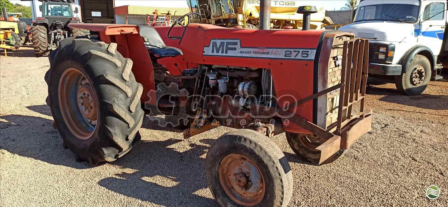 TRATOR MASSEY FERGUSON MF 275 Tração 4x2 Tornado Tratores CAMPO MOURAO PARANÁ PR